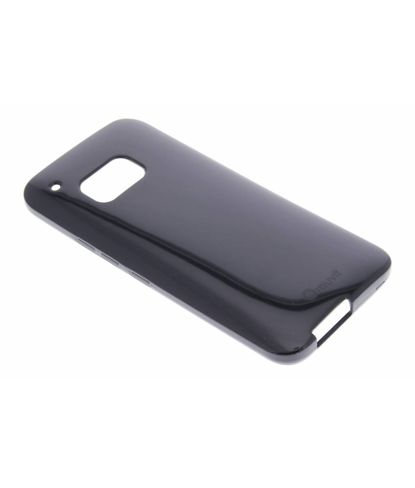 Muvit MiniGel Glossy Case HTC One M9 - zwart