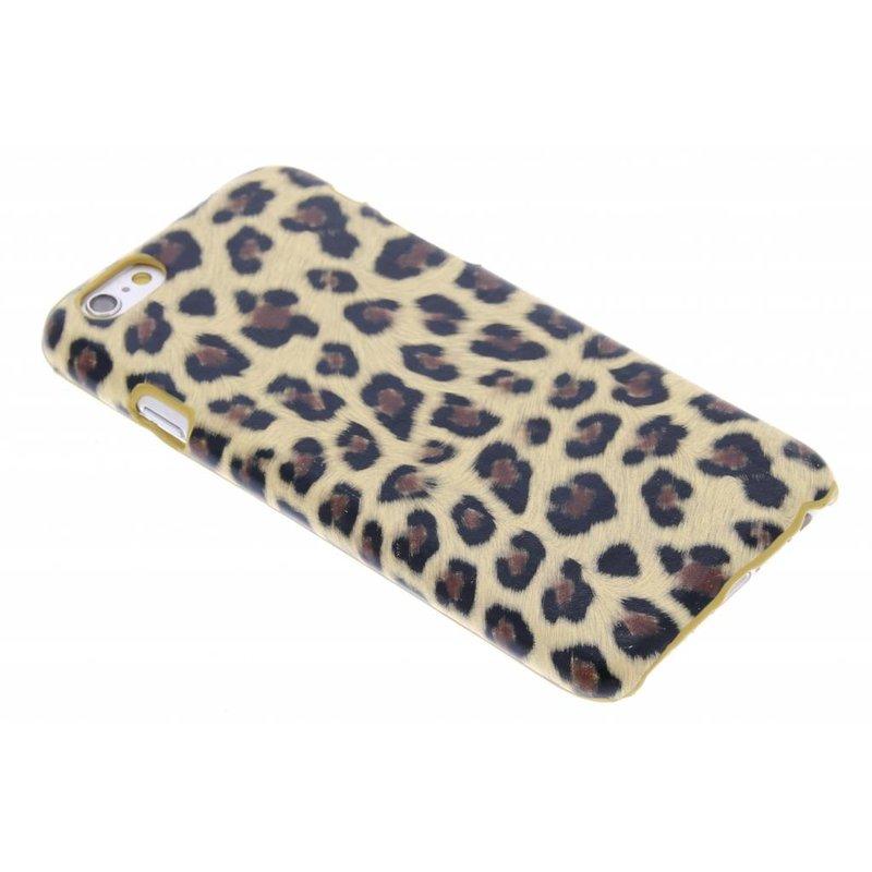 Bruin luipaard hardcase hoesje iPhone 6 / 6s