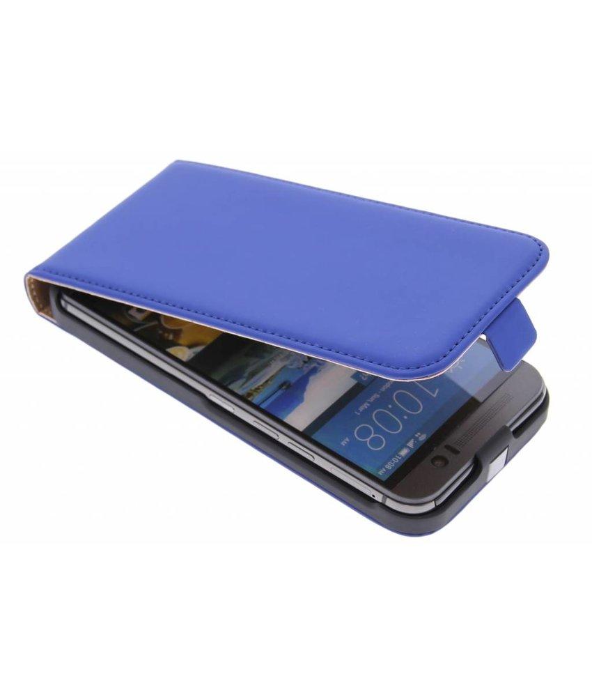 Mobiparts Premium flipcase HTC One M9 - Blue