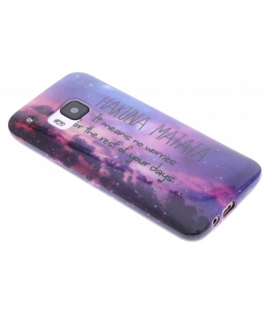 Design TPU siliconen hoesje HTC One M9