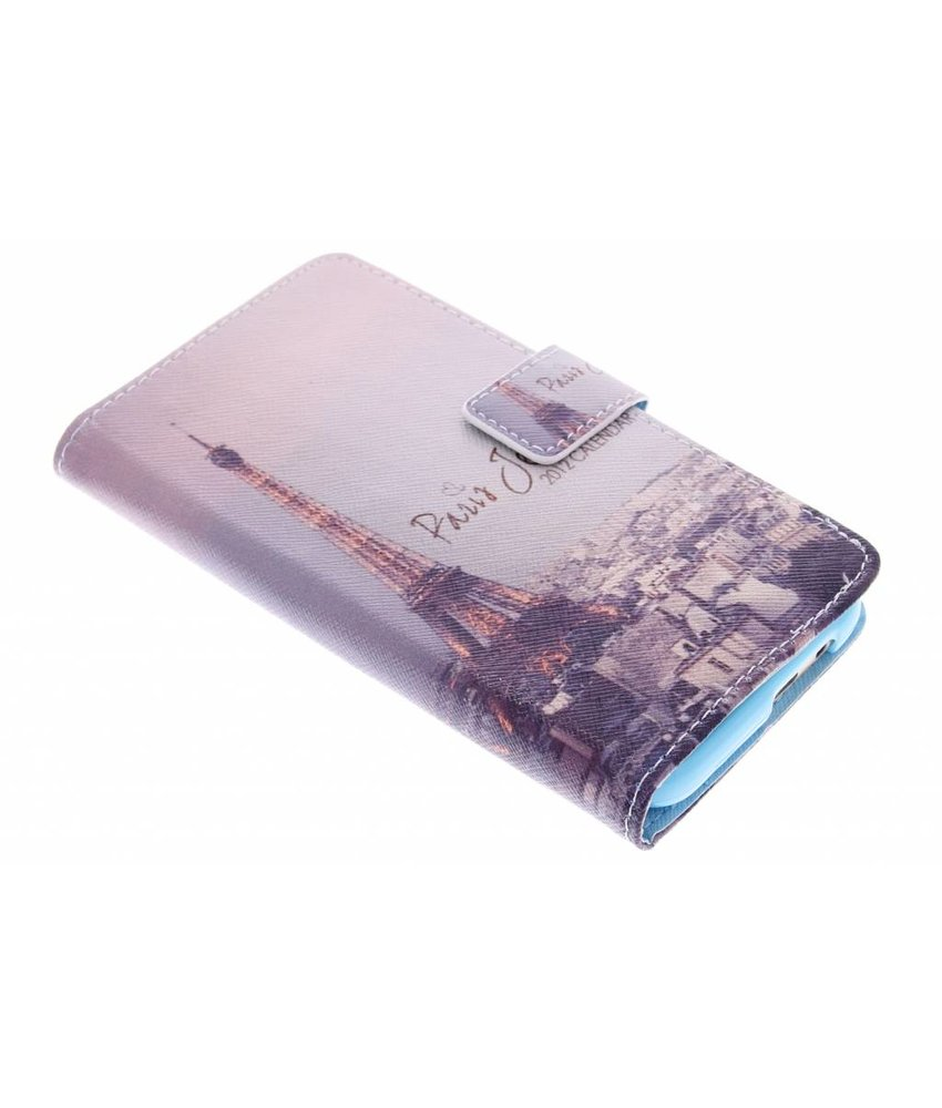 Design TPU booktype hoes HTC One M9
