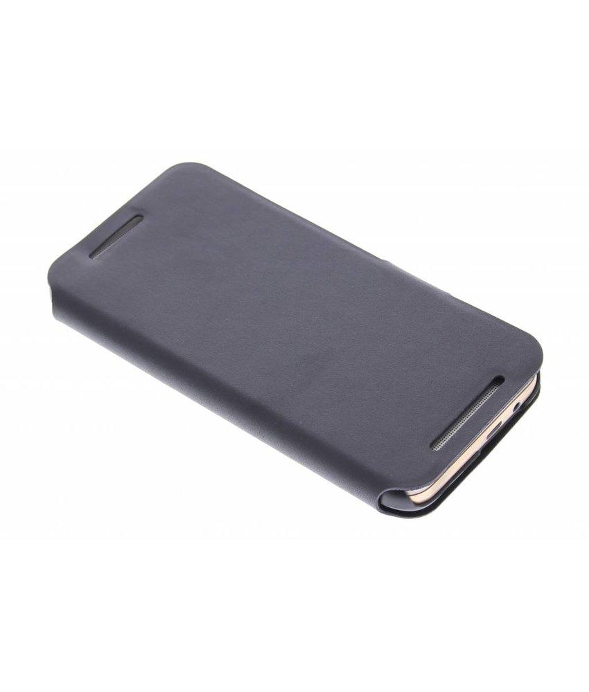 Zwart stijlvolle booktype hoes HTC One M9