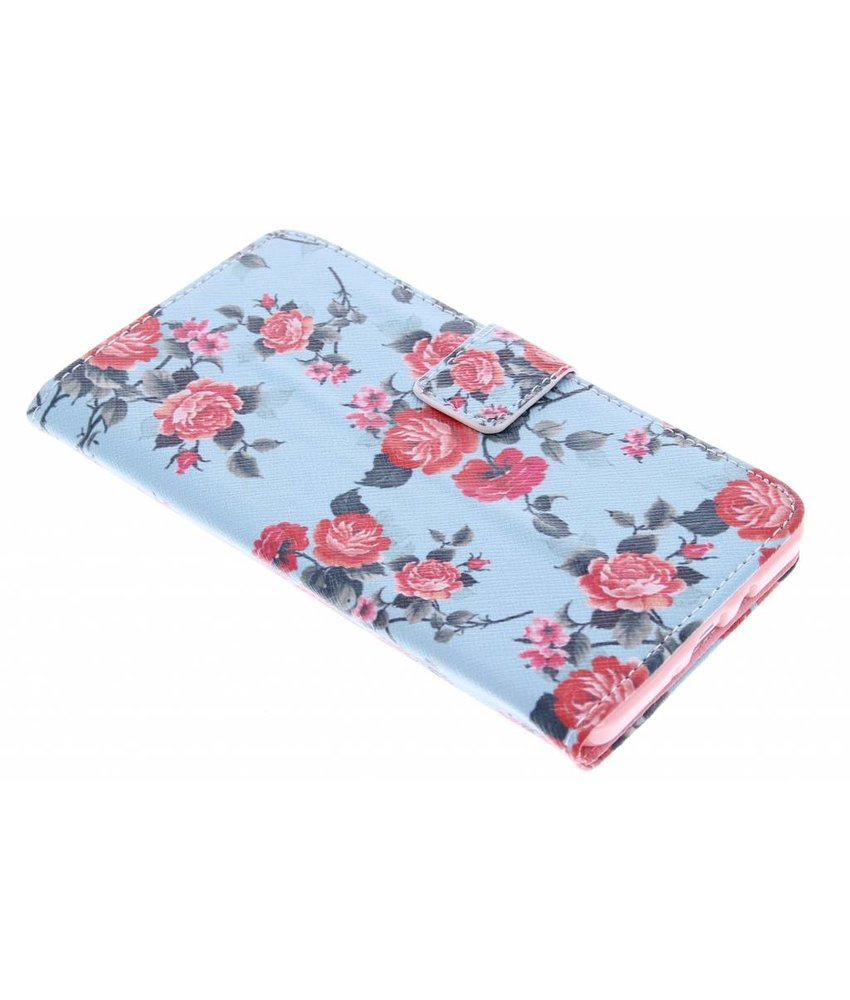 Design TPU booktype hoes Samsung Galaxy A7