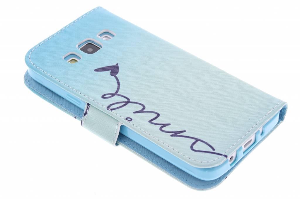 Conception Sourire Cas Booktype Tpu Pour Samsung Galaxy A3 4L820p