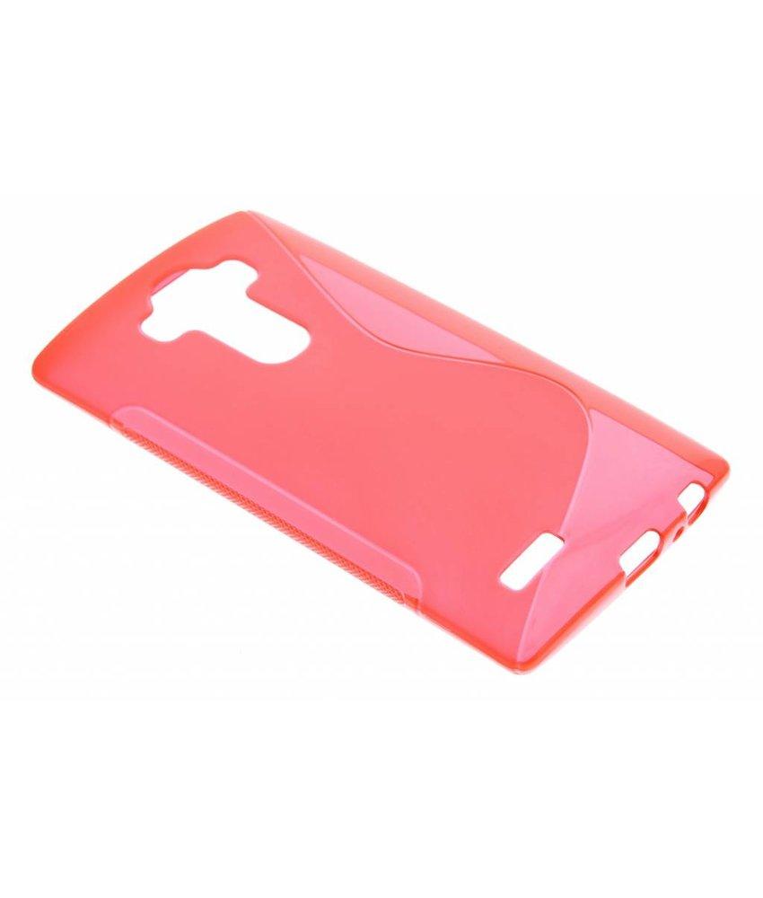 Rood S-line TPU hoesje LG G4
