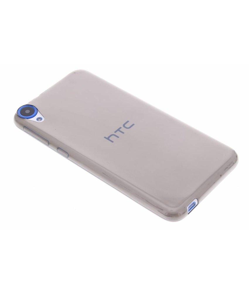 Grijs transparant TPU hoesje HTC Desire 820