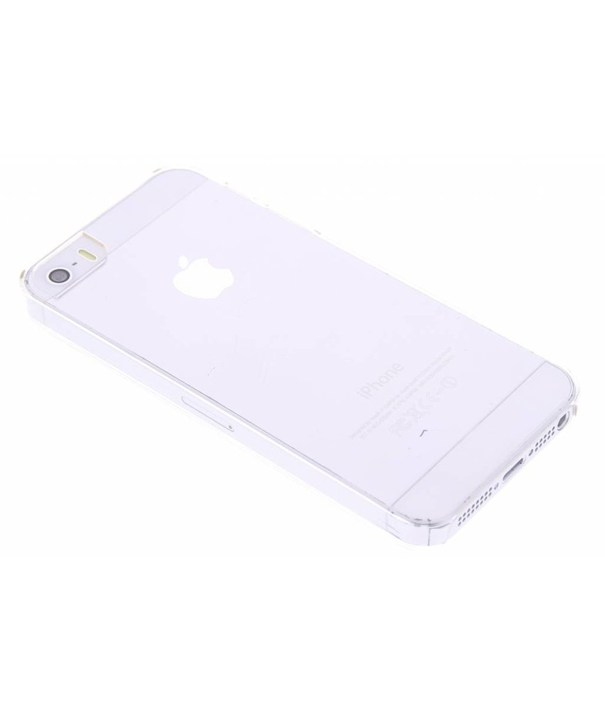 Muvit Clear Back Case iPhone 5 / 5s / SE