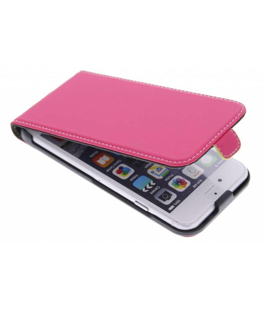 Muvit Slim flipcase iPhone 6 / 6s - fuchsia