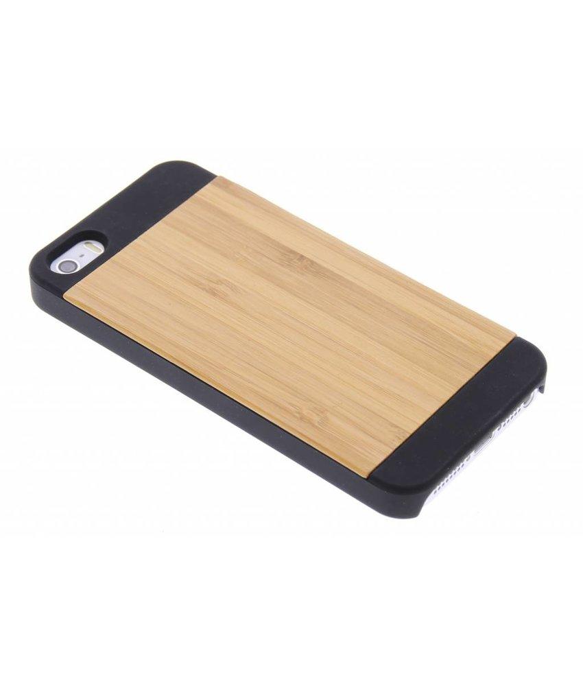 Houten hardcase hoesje iPhone 5 / 5s / SE