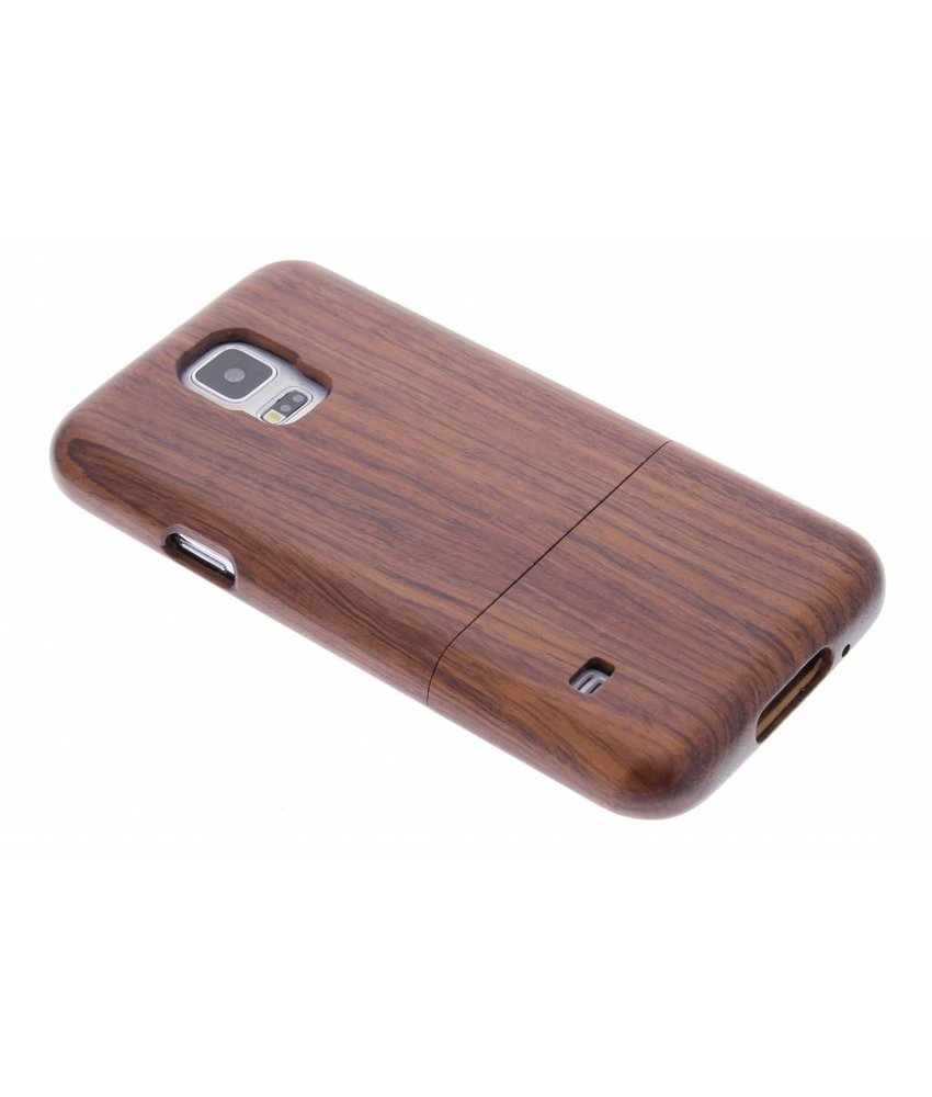 Echt houten hardcase Samsung Galaxy S5 (Plus) / Neo