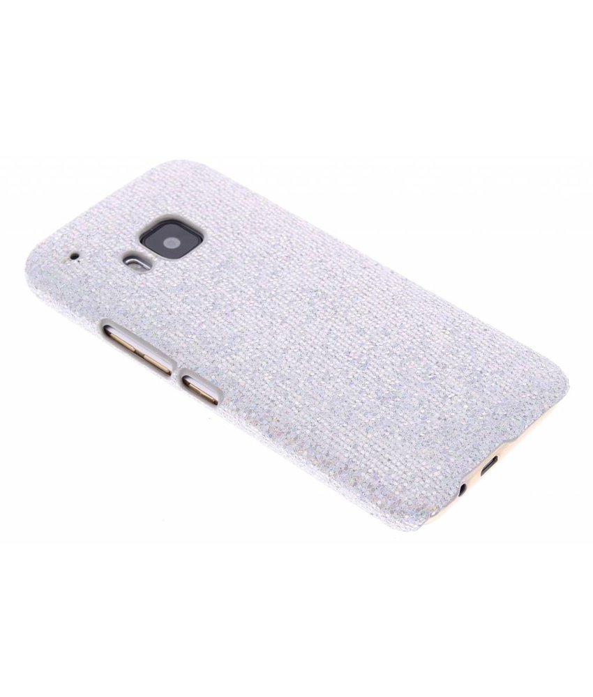 Zilver glamour design hardcase hoesje HTC One M9