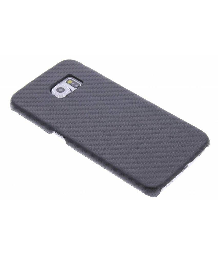 Carbon look hardcase hoesje Samsung Galaxy S6 Edge