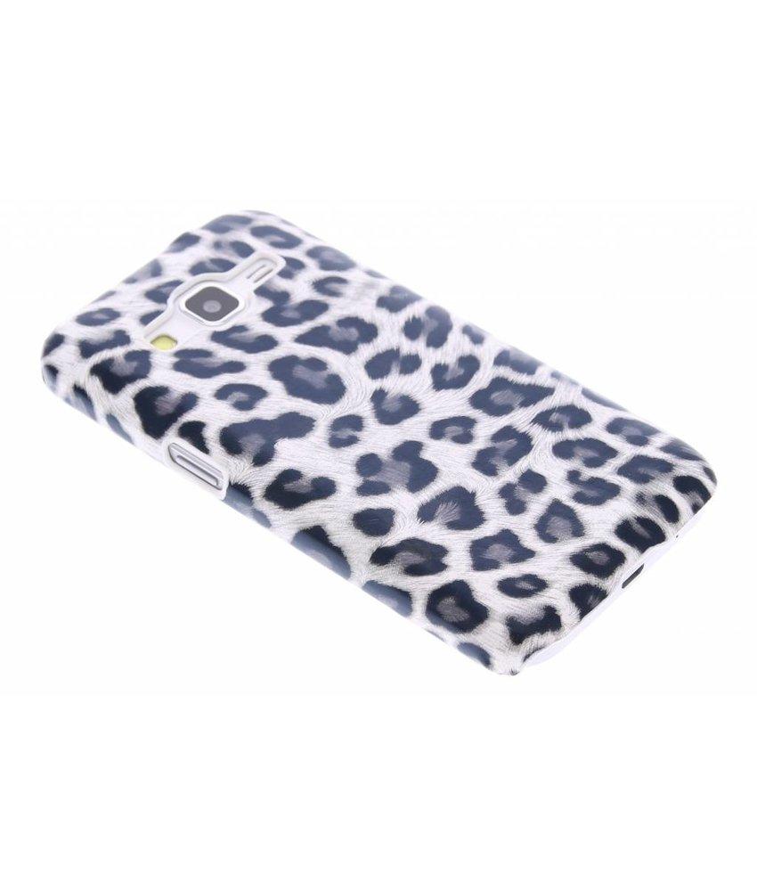 Wit luipaard hardcase hoesje Samsung Galaxy Core Prime