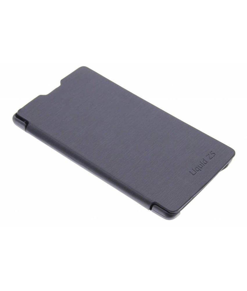 Zwart slim booktype hoes Acer Liquid Z5