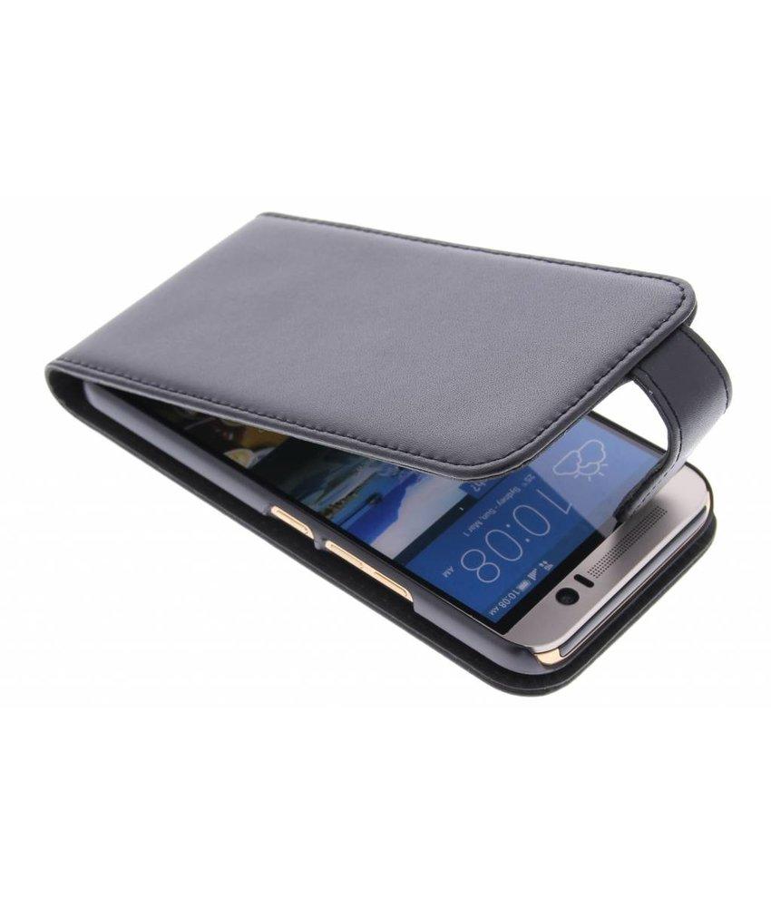 Zwart stijlvolle flipcase HTC One M9