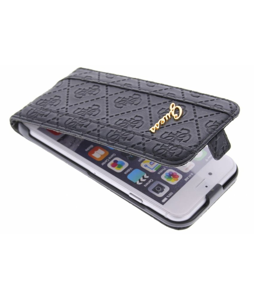 Guess Scarlett Flip Case iPhone 6 / 6s - zwart