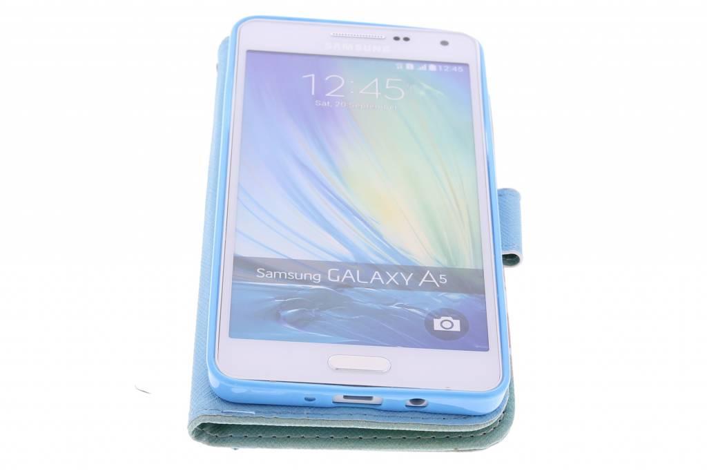 Je Peux Le Faire Tpu Design Booktype Houes Voor De Samsung Galaxy A5 2CUn4VI