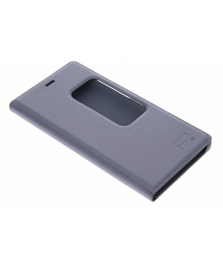 Slim booktype met venster Huawei P8