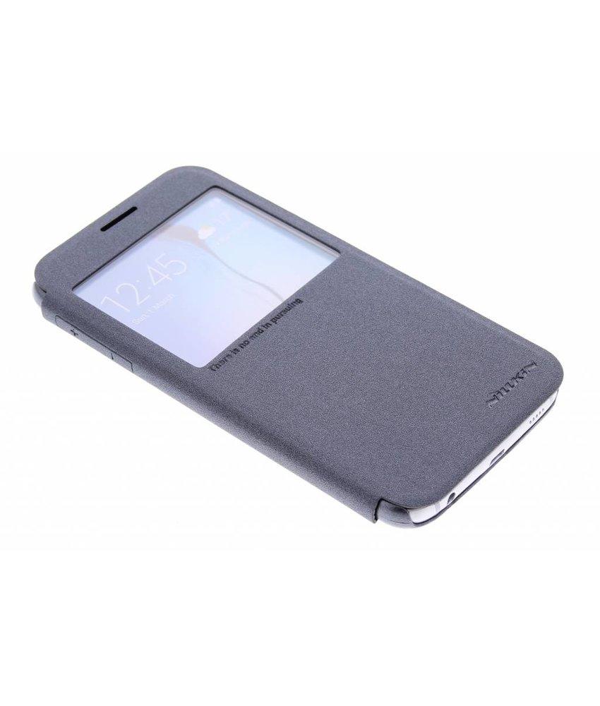 Nillkin Sparkle slim booktype Samsung Galaxy S6 - Zwart