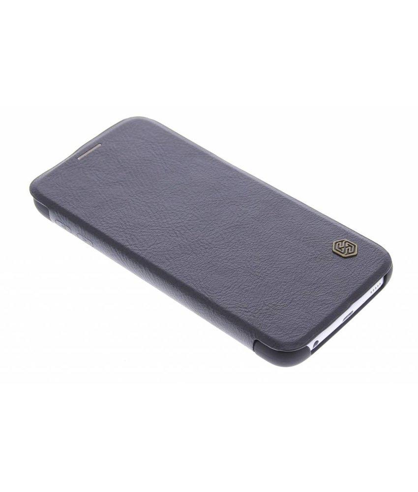 Nillkin Qin leather slim booktype Samsung Galaxy S6