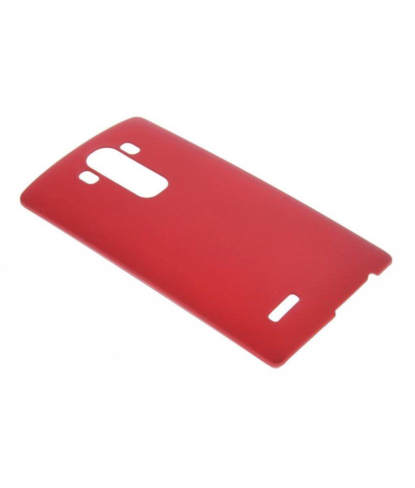 Rood effen hardcase hoesje LG G4