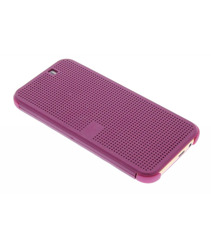 Paars Dot-Cover hoes HTC One M9