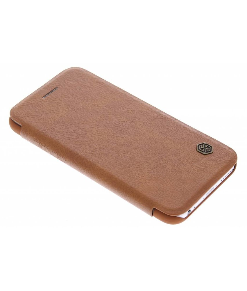 Nillkin Bruin Qin Leather slim booktype hoes iPhone 6 / 6s