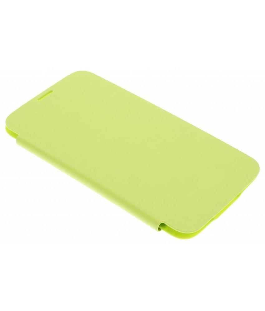 Groene flipcover Samsung Galaxy S5 (Plus)
