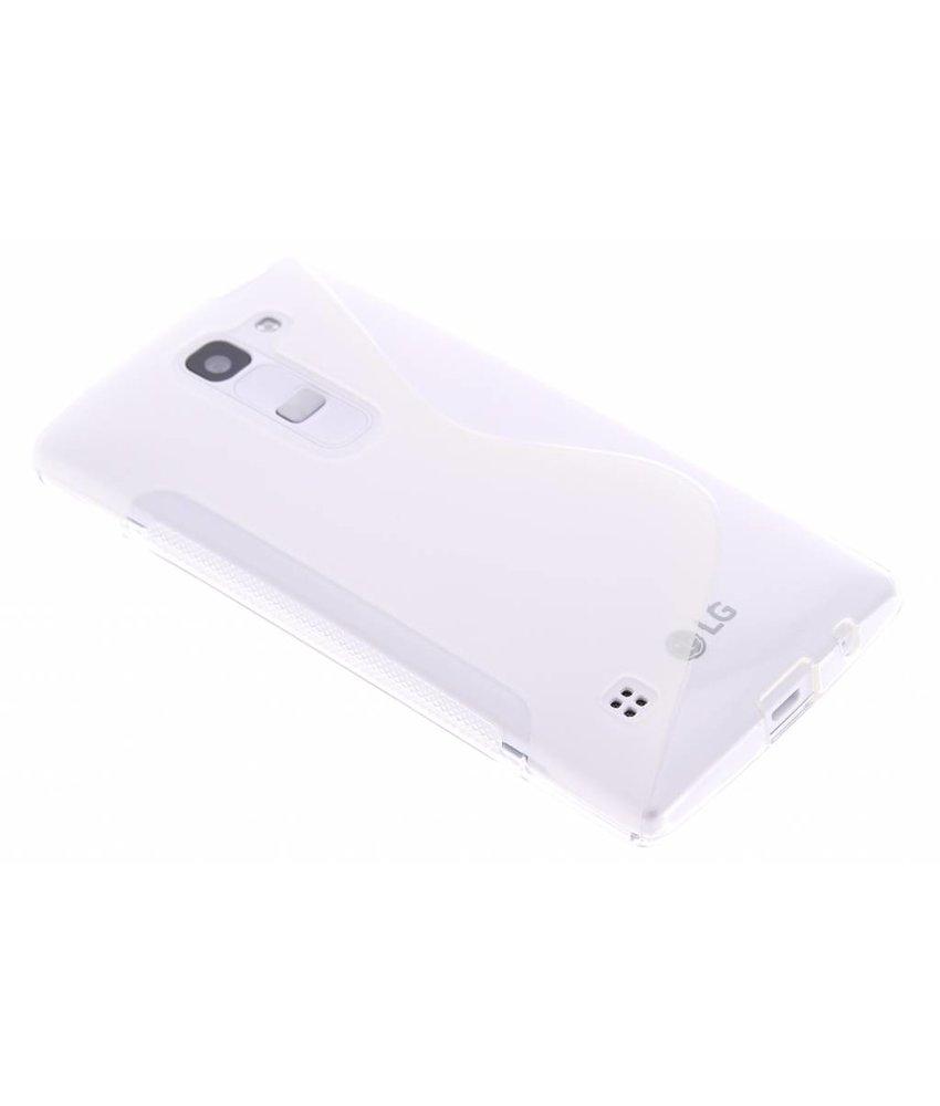 Transparant S-line TPU hoesje LG Spirit