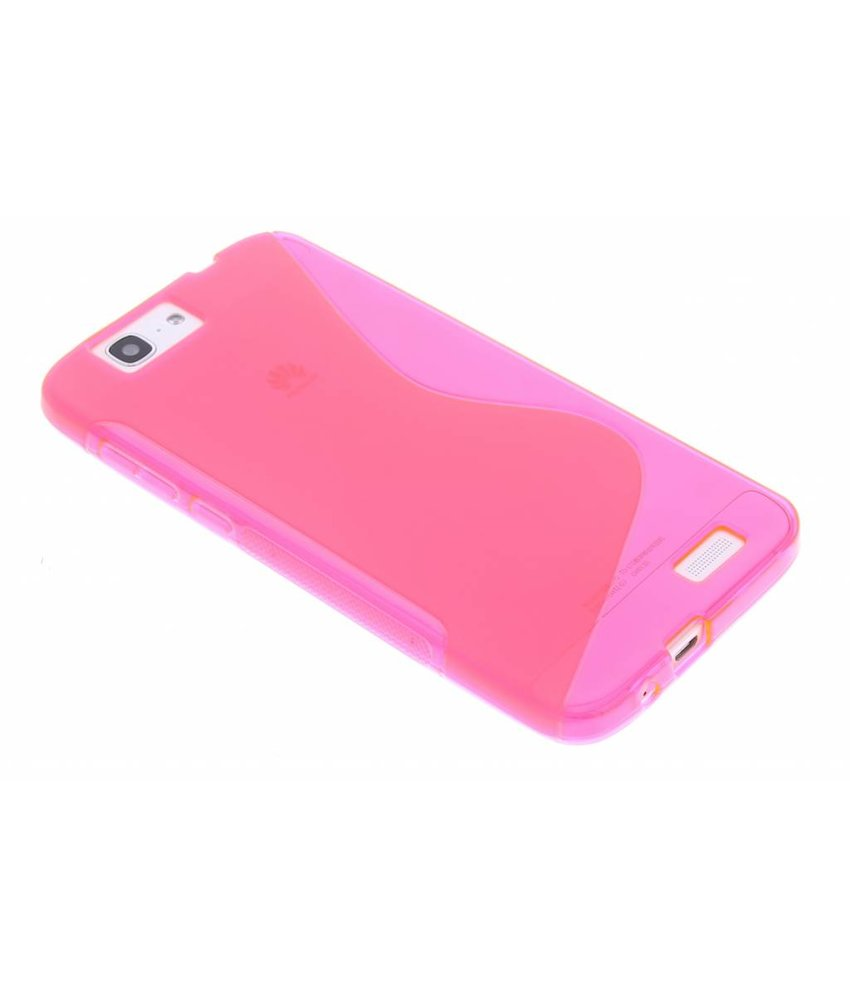 Rosé S-line TPU hoesje Huawei Ascend G7