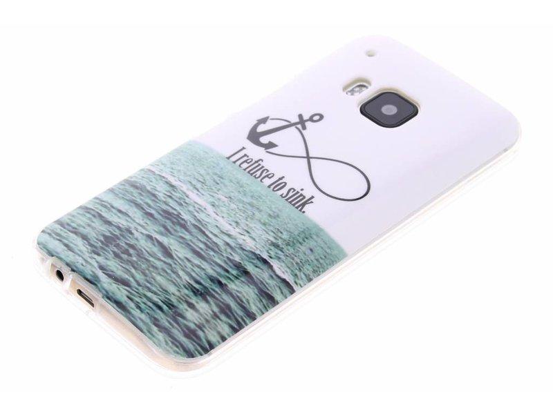 HTC One M9 hoesje - Anker design TPU siliconen