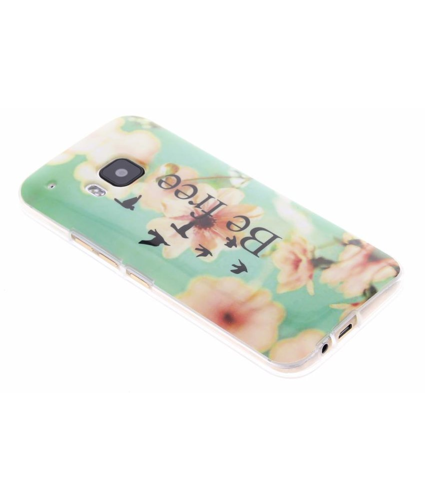 Design TPU siliconen hoesje HTC One M9