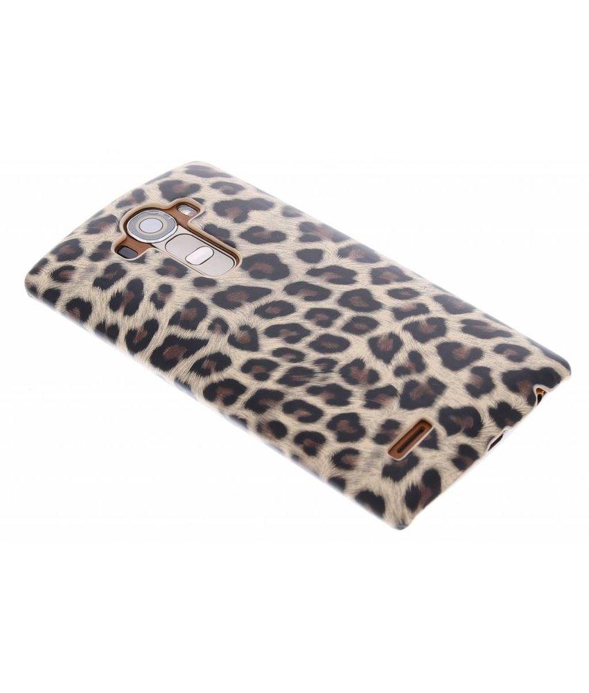 Bruin luipaard hardcase hoesje LG G4