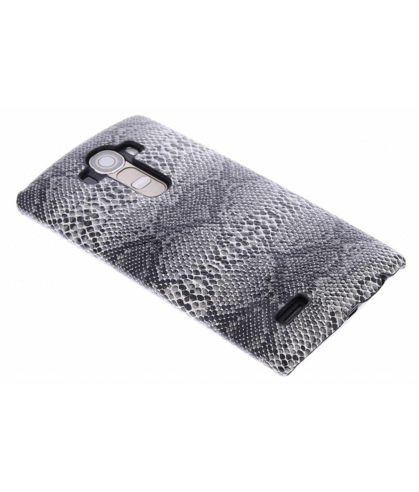 Zwart slangen design hardcase LG G4
