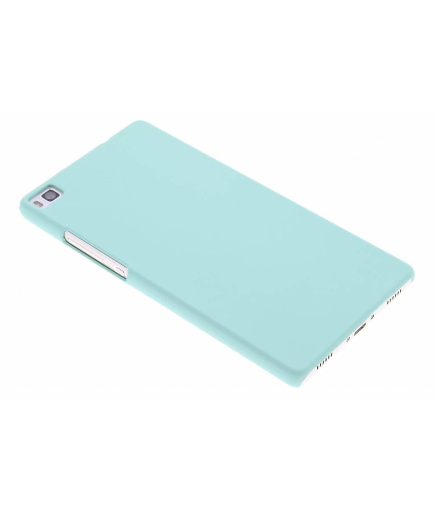 Mintgroen pastel hardcase hoesje Huawei P8