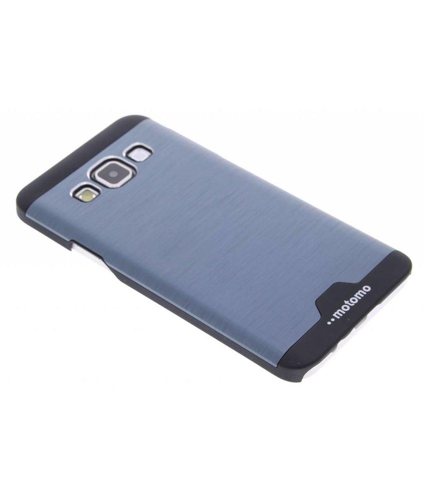 Blauw brushed aluminium hardcase Samsung Galaxy A3