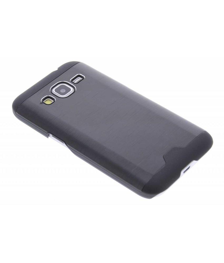 Brushed aluminium hardcase Samsung Galaxy Core Prime