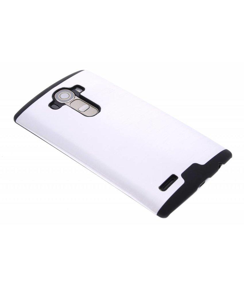 Zilver brushed aluminium hardcase LG G4