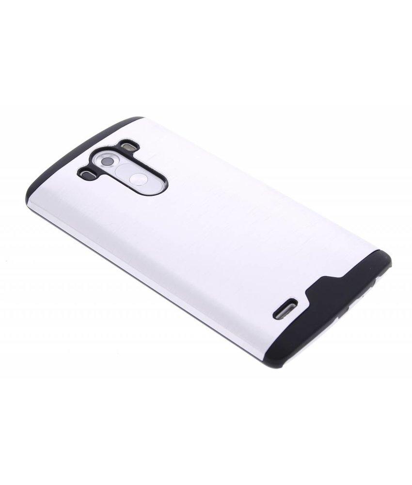 Zilver brushed aluminium hardcase LG G3