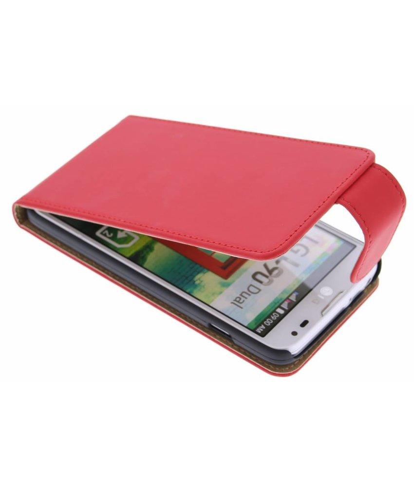 Rood classic flipcase LG L90