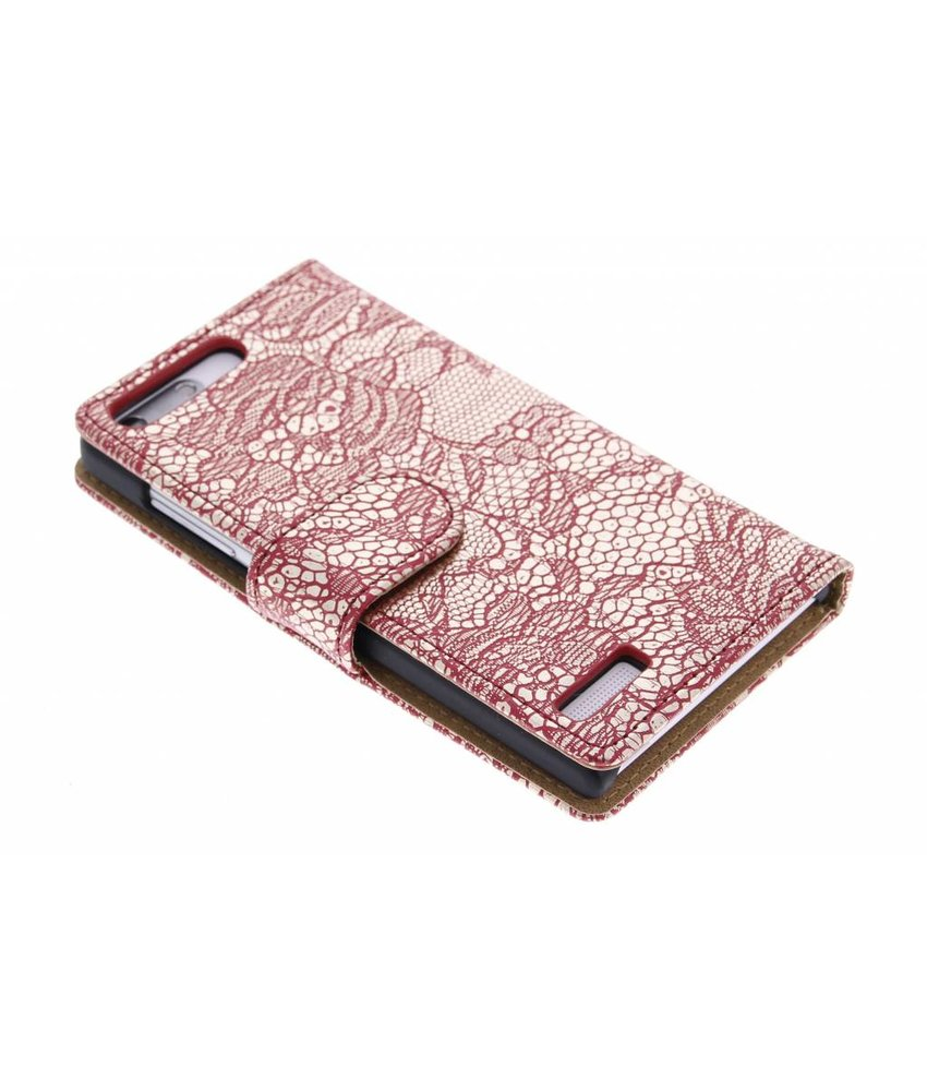 Glamour design booktype hoes Huawei Ascend G6