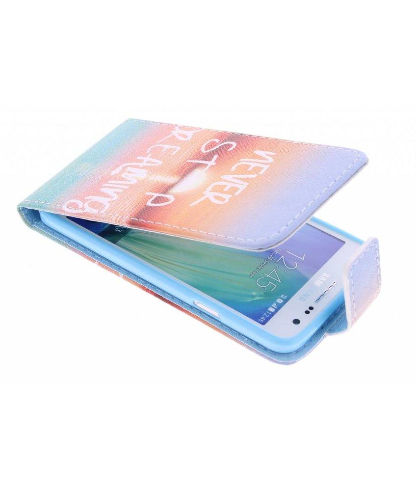 Design TPU flipcase Samsung Galaxy A3