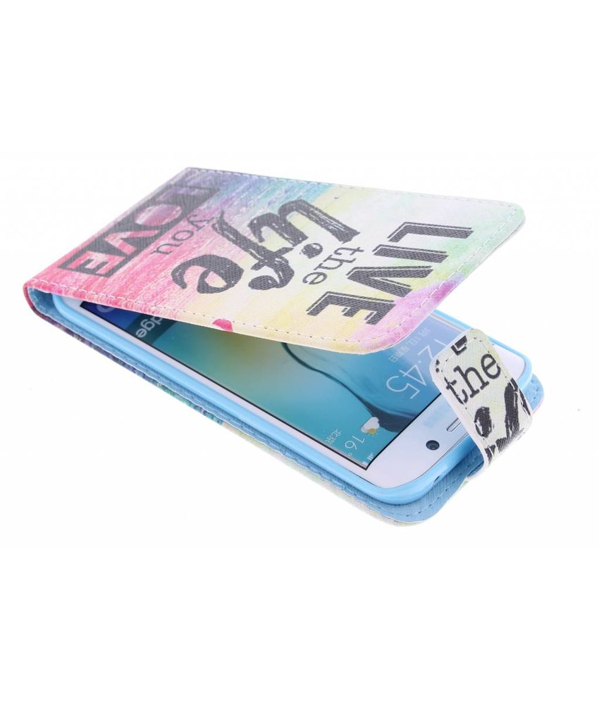 Design TPU flipcase Samsung Galaxy S6 Edge