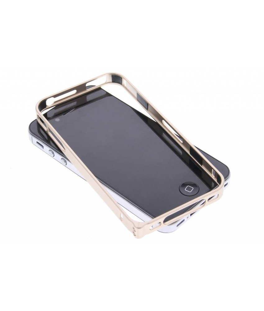 Goud metalen bumper iPhone 4 / 4s