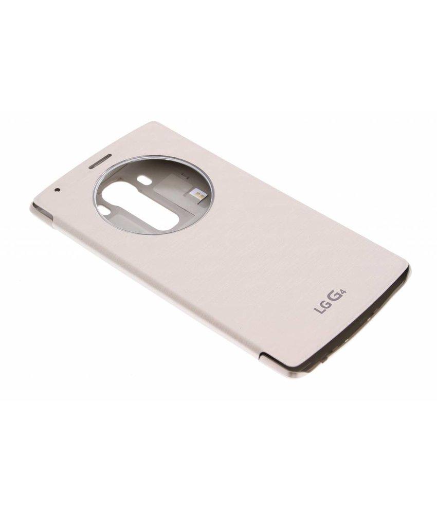 LG Quick Circle Case LG G4 - Goud