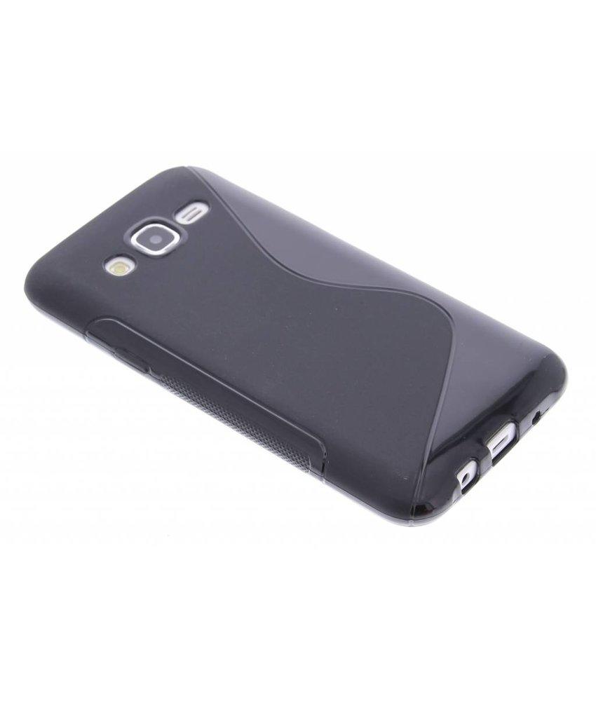 Zwart S-line TPU hoesje Samsung Galaxy J5