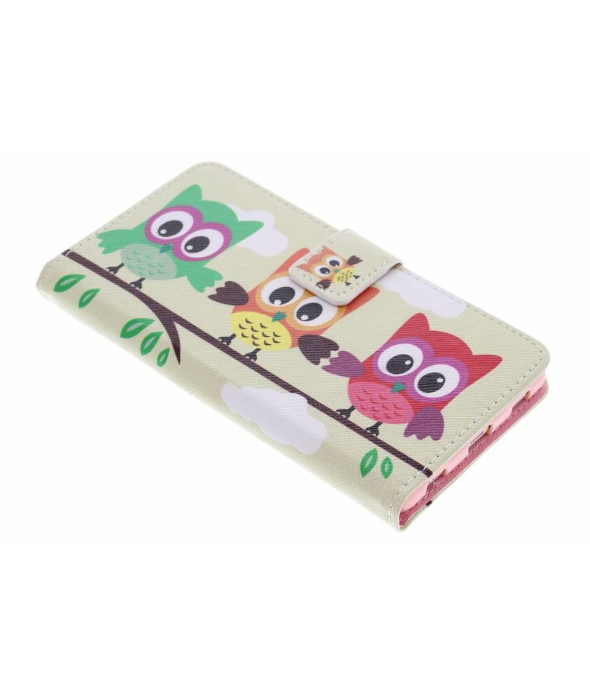 Design TPU booktype hoes Huawei P8
