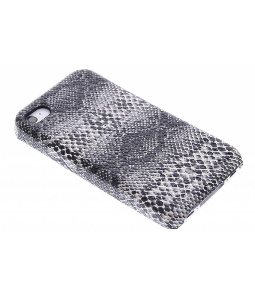 Zwart slangen hardcase hoesje iPhone 4 / 4s