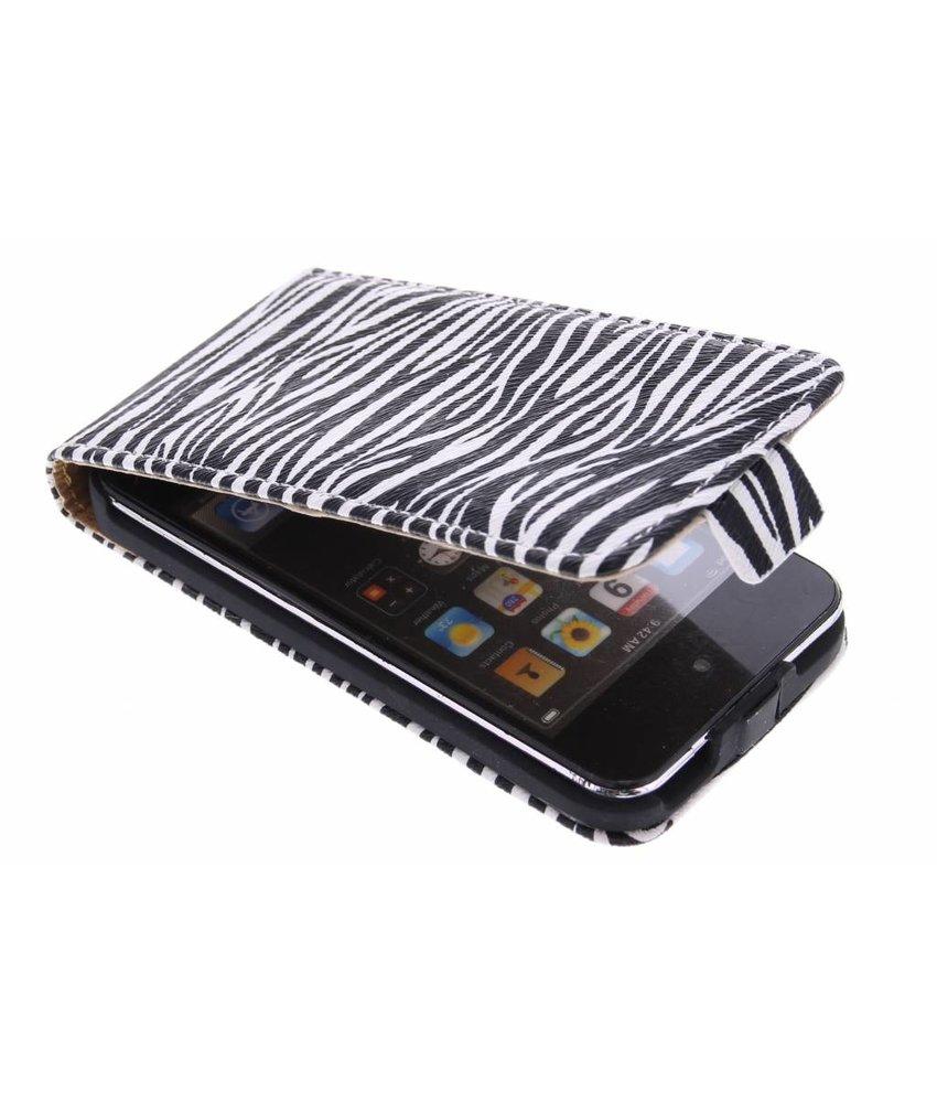 Zebra flipcase iPod Touch 4G