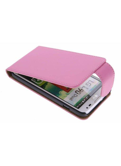 Roze classic flipcase LG L90